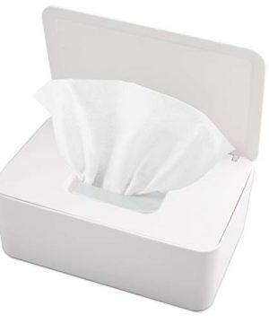 KONUNUS Wet Wipes Storage Box, Wipes Dispenser Holder