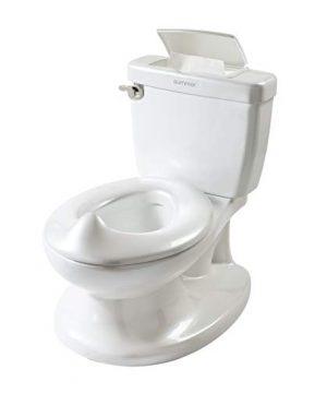 Summer Infant My Size Potty, White – Realistic Potty Training Toilet