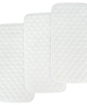 BlueSnail Bamboo Quilted Thicker Waterproof Changing Pad Liners