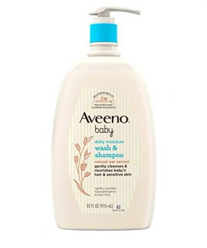 Aveeno Baby Gentle Wash, Shampoo with Natural Oat Extract