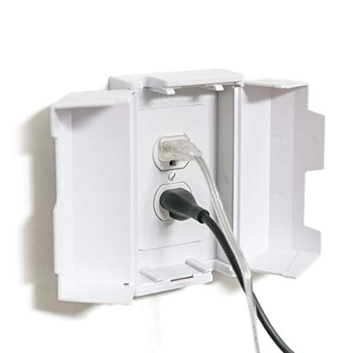 Electrical Outlet Cover Box for Child Safety