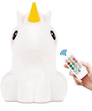 Weitars LED Unicorn Night Light for Kids