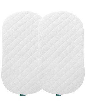 Bassinet Mattress Pad Cover, Waterproof