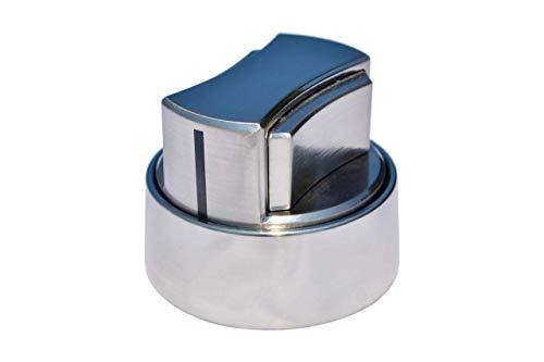 RangeSafe Stove Safety Knob (Brushed Stainless)