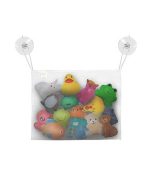 LITTLE BEBE Mesh Bath Toy Organizer with 2 Suction Cups