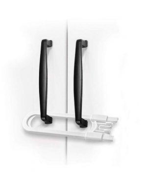 Adoric Sliding Cabinet Locks, U Shaped Baby Safety Locks