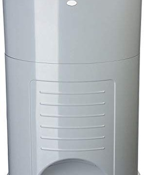 Dekor Plus Hands-Free Diaper Pail | Gray | Easiest to Use