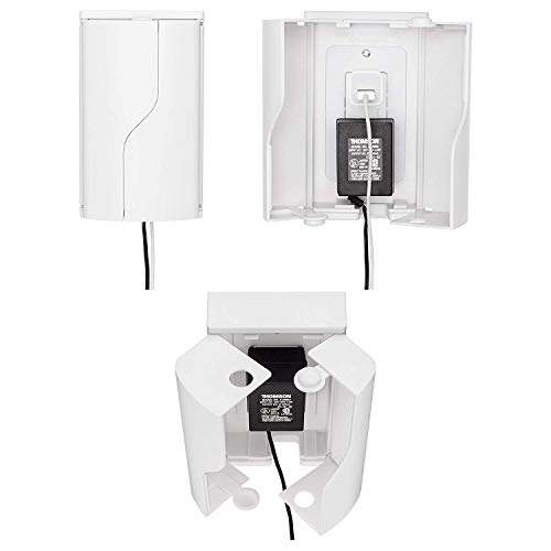Twin Door Baby Safety Outlet Cover Box