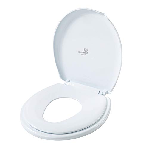 Potty Training Seat Long and Fits Most Round Toilet Seats