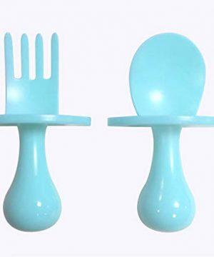Kohny's Stuff Toddler Utensils Set Fork and Spoon Set