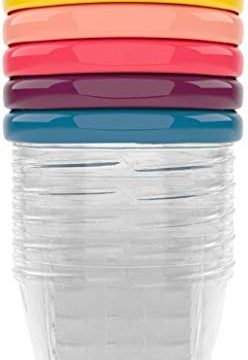 Babymoov Leak Proof Storage Bowls | BPA Free Containers With Lids