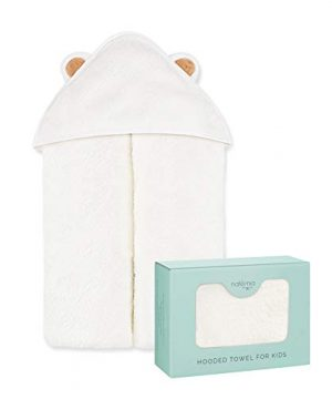 Natemia Extra Soft Rayon from Bamboo Baby Hooded Towel