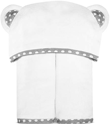 Bamboo Hooded Baby Towel – Luxurious, Large and Super Absorbent