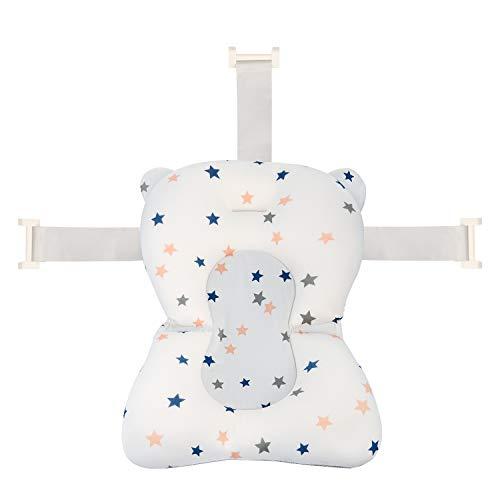 Baby Bath Pad, Adjustable Non-Slip Infant Bath Support Seat