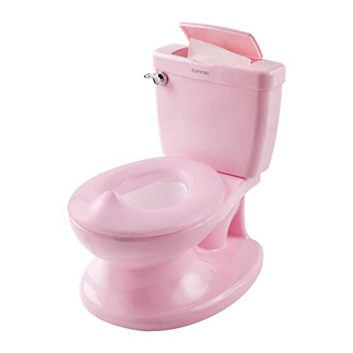 Potty Training Toilet Looks and Feels Like an Adult Toilet