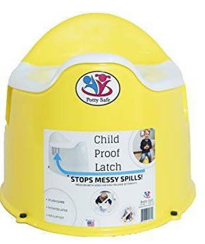 Potty Safe-Potty Training Toilet w/Child Proof Latch; Potty Chair