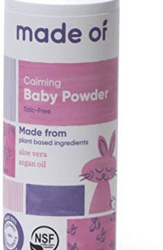 Organic Baby Powder by MADE OF – Fragrance Free