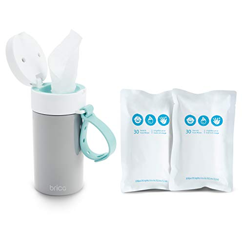 Clean-to-Go Baby Wipes Container Starter Pack