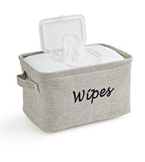 Dejaroo Baby Wipe Storage Bin - Nursery Organizer Caddy