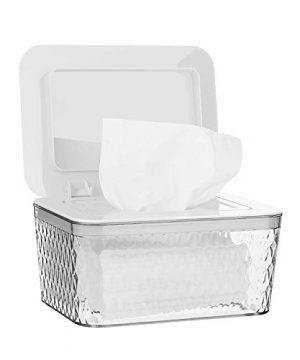 Jitnetiy Wipes Holders, Large Capacity Wipes Dispenser Box