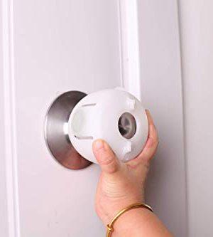 QT BABY Universal Fit Door Knob Covers Babyproof