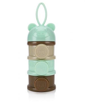 Accmor 3 Layers Baby Milk Powder Formula Dispenser