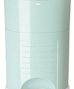 Dekor Plus Hands-Free Diaper Pail | Soft Mint | Easiest to Use