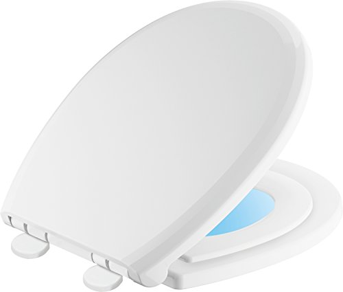 Training Nightlight Toilet Seat with Slow Close and Quick-Release
