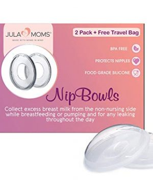 Breast Milk Catcher, Travel Bag Included by JULA MOMS