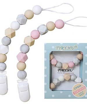 Pacifier Clip Soother Chains for Baby Girls