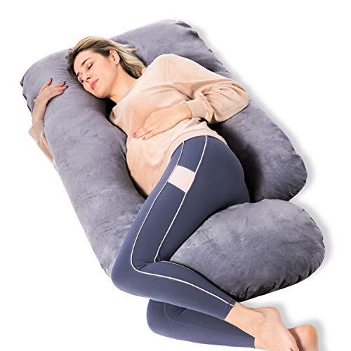 Momcozy Pregnancy Pillows, U Shaped Full Body Maternity Pillow