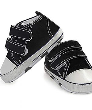 MDCIHOL Baby Girls Boys Soft Sole Two Straps Sneakers