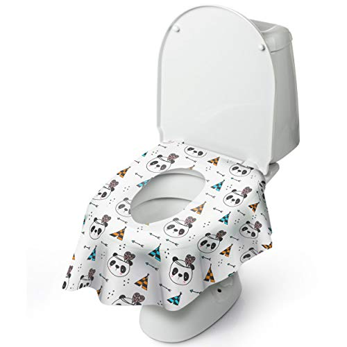 Disposable Toilet Seat Cover for Potty Training Toddler Kids and Adults.