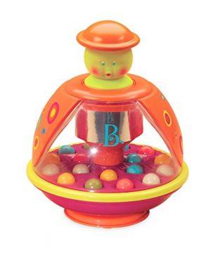 B. toys – Poppitoppy – Ball Popper Toy Tumble Top