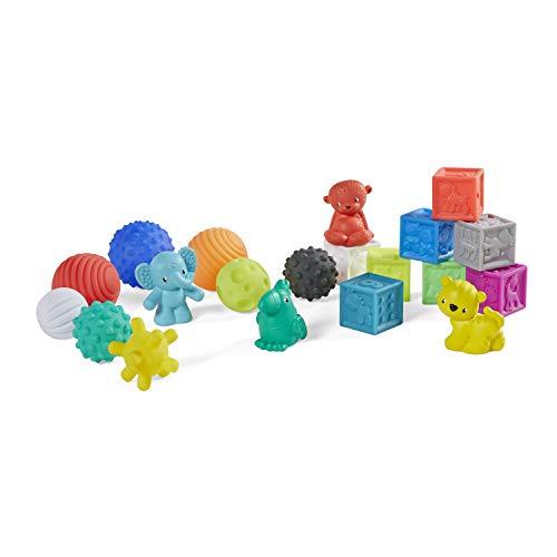 Infantino Sensory Balls Blocks, Buddies