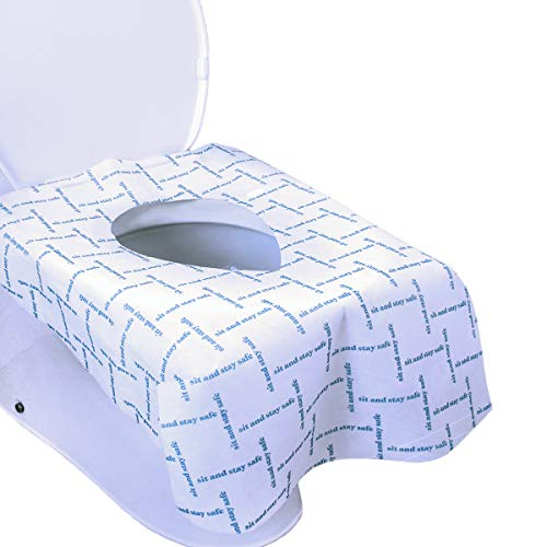 Handy Basix XL Full Coverage Disposable Toilet Seat Covers for Kids