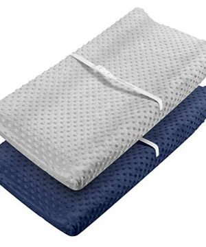 Changing Pad Cover - Babebay Ultra Soft Minky Dots