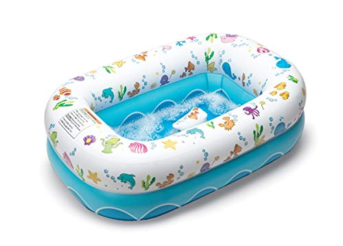 Mommy's Helper Inflatable Bathtub for Baby