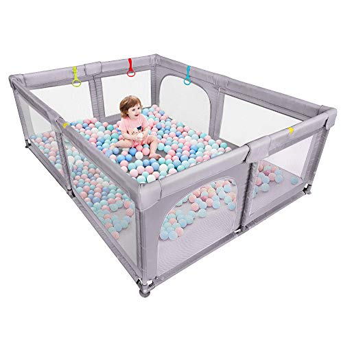 Baby Playpen, Dripex Extra Large Anti-Fall Play Pen