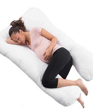 "COMFYSURE Pregnancy Pillow - 59"" U Shaped Full Body Pillow"