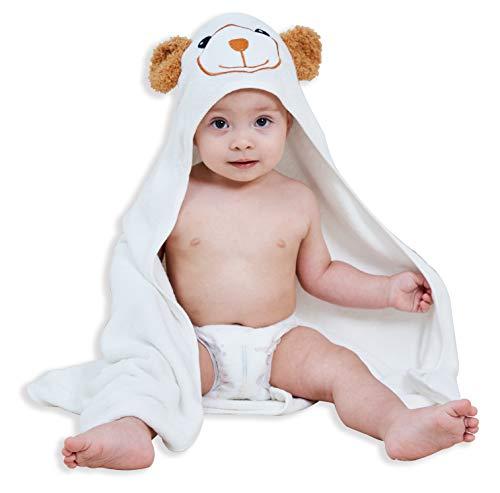 Premium Bamboo Baby Bath Towel - Ultra Absorbent