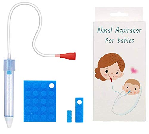 Baby Nasal Aspirator with 24 Hygiene Filters