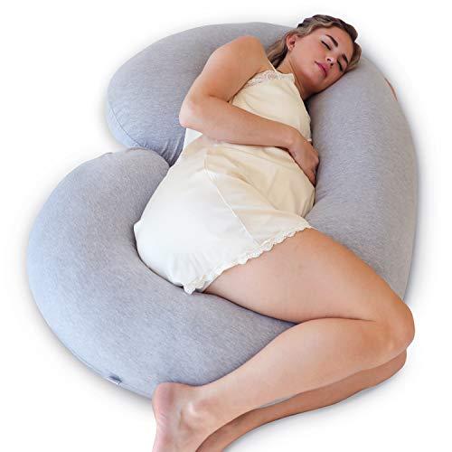 PharMeDoc Pregnancy Pillow, C-Shape Full Body Pillow