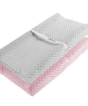 Changing Pad Cover, AceMommy Ultra Soft Minky Dots Plush