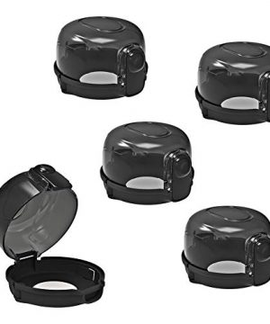 Cypropid Kitchen Stove Knob Covers, Protection Locks