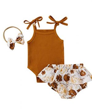 9M Newborn Baby Girl Summer Outfits
