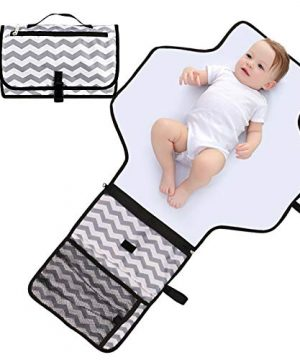 Baby Diaper Changing Pad, Portable Travel Changing Mat Station