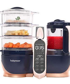 Babymoov Duo Meal Station XL | 6 in 1 Food Processor