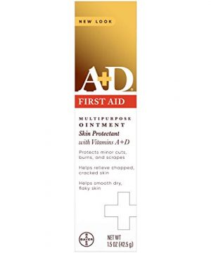 A+D First Aid Ointment - Moisturizing Skin Protectant for Dry Cracked Hands