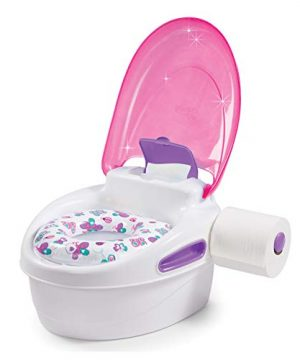 Pink 3-in-1 Potty Training Toilet
